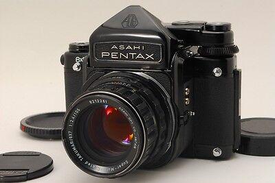 Пленочные фотокамеры 【EXC++++】 Pentax 6X7 67