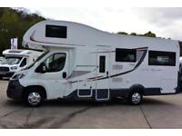NEW 2018 Roller Team Auto-Roller 746, 6 berth, overcab double, spacious U lounge