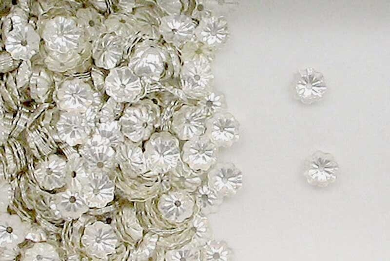 Sterling Silver Flower Bead Caps 5mm Beading Supplies