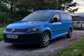 VW Caddy Maxi 1.6 TDI (102) van / campervan NO VAT