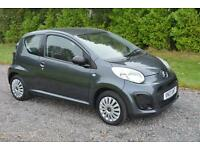 CITROEN C1 VT 3DR GREY 2013 GENUINE 20K 1 OWNER FDSH TAX £0 A YEAR