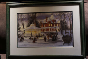 2 signed Walter Campbell prints