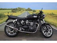 Triumph Bonneville 865 **Heated Grips, Triumph Tank Pad, Norman Hyde Exhaust**