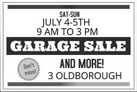 Garage, home contents and office sale!