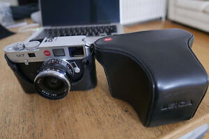 LEICA M2-M7 FULL LEATHER CASE GOOD CONDITION