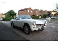 MG Midget, great sport car, stereo, wire wheels heritage shell!!