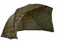 Aqua camo fast and light brolly used once superb condition