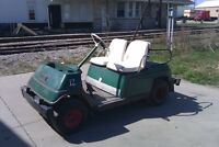 WANTED Project Golf Cart