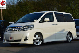 2007 (57) TOYOTA ALPHARD AS Platinum Selection ll 2.4 Automatic 8 Seater MPV