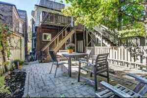 Large Sunny Roncesvalles 2 Bedroom Main Floor Home with Backyard