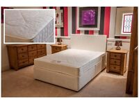 SINGLE DIVAN BASE & MATTRESS