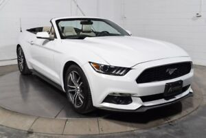2016 Ford Mustang CONVERTIBLE PREMIUM ECOBOOST CUIR MAGS