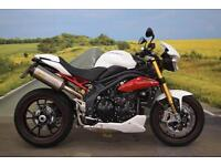 Triumph Speed Triple R 1050 **R&G Bobbins, Arrow Exhaust, ABS, Brembo Brakes**