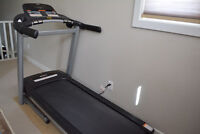 MOVING SALE: COUCH, TREADMILL, DESKS, DECORATIONS STAND/TABLE