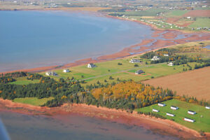 Sunset Dunes Lot 14 Cape Traverse View of Confederation Bridge