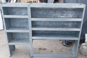 Galvanized Steel Van Shelf