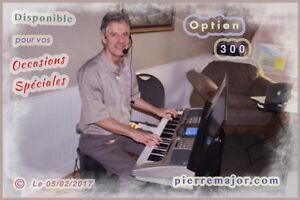 Organiste-Chanteur pour Résidences ( Pierre Major )( 2017 )