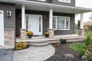 Energy efficient, custom home with over  3800 square feet living
