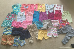 Huge lot of girl's summer clothes, size 5
