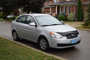 2009 Hyundai Accent GL Sedan, low mileage