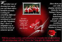 Singing Valentines by the Barbershop Harmony Society
