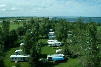 SEASONAL CAMPSITES AVAILABLE @ CYMBRIA CAMPGROUND