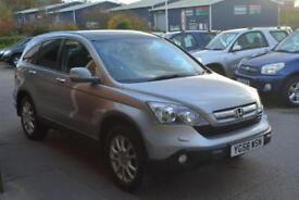 2008 HONDA CR V 2.2 i CTDi EX READY TO GO F.S.H SAT NAV REVERSE CAM LEATHER