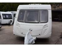 Swift Charisma 550, 2010, 4 berth, fixed double bed, walk in shower