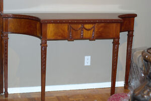 George III Style Mahogany Console Table (20th century)