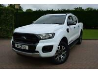 2019 Ford Ranger 3.2 TDCi Wildtrak Double Cab Pickup Auto 4WD (s/s) 4dr Pickup D