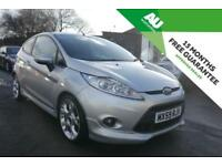 2010 59 Ford Fiesta 1.6 ZETEC S 3 Door in Silver