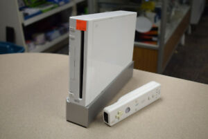 White Nintendo Wii Rvl-001 With Controller (#1267)