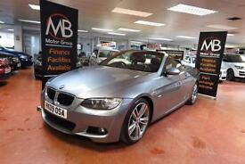2009 BMW 3 SERIES 320d M SPORT Step Auto Full Leather Heated Seats Xenons AUX