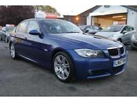 2007 57 BMW 318D M Sport DIESEL FULL BMW SERVICE HISTORY 2 OWNERS