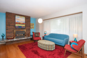 3 bedrooms/2 bathrooms beautifully furnished