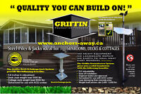 GFP Steel Piling for Decks,Sunrooms & Additions!