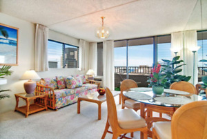 Waikiki Condo for rent - 2 blocks from the beach