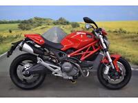 Ducati Monster 696 **R&G Bobbins, Paddock Bobbins, Braided Hoses**