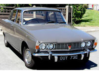 Rover 2000 P6 Saloon, 1967 only 13,400 miles