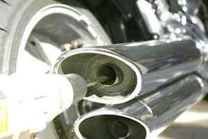 Modification d exaust baffel muffler d'origine Harley Davidson