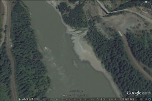 Placer gold claim for sale on Fraser river near Canyon Alpine