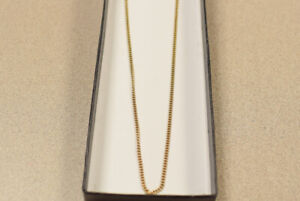 "22"" 10K Yellow gold chain(#3345-1)"