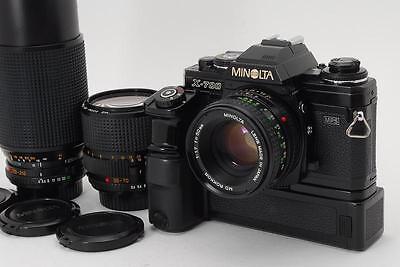 Exce+++++ Minolta X-700 W/ 50mm f1.7+ 35-70mm f3.5+70-210mm f4+MotorDrive1