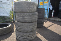 4x 255/40R19 Michelin Alpin PA3 Hiver/Winter