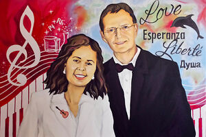 Amazing GIFT Idea!!! Portraits, Custom Oil Painting