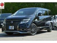 2018 Nissan Elgrand 3.5 V6 Chrome Selection UK DVD Sat Nav Leather Cameras FRESH