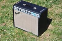 Old and broken guitar amps