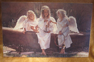 """Steve Hanks - """"Candle in the Wind"""" on Canvas"""
