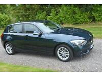 BMW 116D 2 0 SE 2013 DIESEL BLUE REAR PARK AIDS DAB BLUETOOTH TAX £30