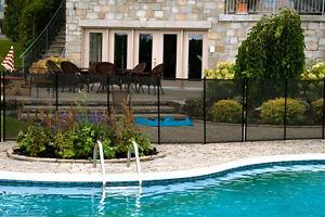 clôture de piscine amovibles enfant sécure